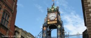 Eastgate clock in Chester, near Nu-Recruit