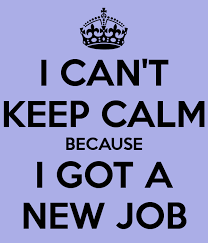 I can't keep calm because it's a new job - Nu-Recruit Liverpool, Chester, Wirral.